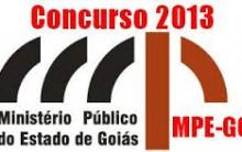 Concurso Ministério Público GO 2013  – Vagas e como fazer as  Inscrições