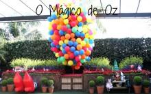 Decoração Festa de Aniversário Infantil Tema O Mágico de Oz – Fotos e Dicas