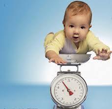 peso e altura do bebe