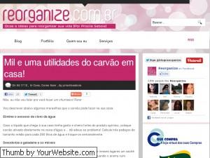 Site Reorganize.com.br – Dicas Para Arrumar Ambientes