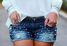 Novos Shorts Jeans Verão 2014 – Modelos, Tendências