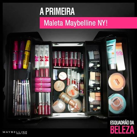 Maleta de Maquiagem Maybelline – Onde Comprar
