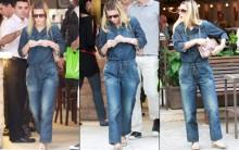 Moda Verão 2014 Macacões Jeans – Modelos, Dicas Para Usar