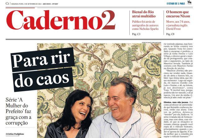 Nova Série da Globo a Mulher do Prefeito 2013 – Data de Estréia, Fotos e Elenco