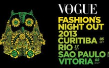 Vogue Fashion's Night Out no Brasil 2013 – Ver a Programação
