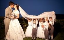 Entradas Criativas Para Daminhas Pajens na Cerimônia de Casamento – Dicas