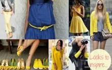 Dicas de Looks em Tom Amarelo Tendências Para o Verão 2013 – Ver Modelos