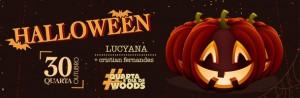 Halloween 2013 no Woods Bar em SP