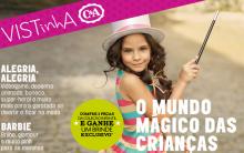 Mundo Mágico das Crianças C&A 2013 – Brindes, Ofertas