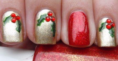 Unhas Decoradas Para o Natal 2013 – Modelos, Como Fazer