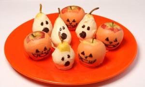 receita de frutas halloween[