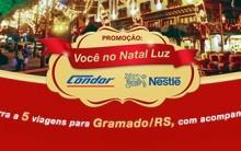 Promoção Nestlé e Condor Você no Natal Luz em Gramado 2013 – Como Participar