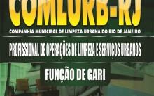 Concurso Comlurb Companhia Municipal de Limpeza Urbana rj 2014 – Inscrições