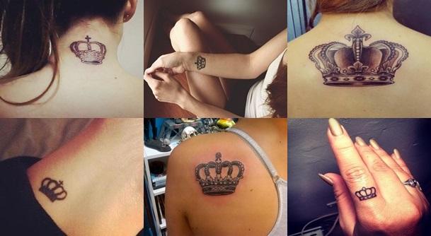 Tatuagens de Coroas Femininas – Modelos de Tatuagem, Significado