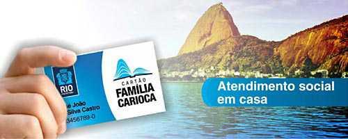 Cartão Família Carioca – Como Solicitar, Vantagens