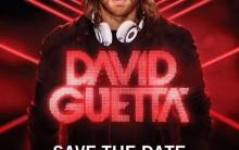 Turnê David Guetta no Brasil em 2014 – Comprar Ingressos para Apresentações