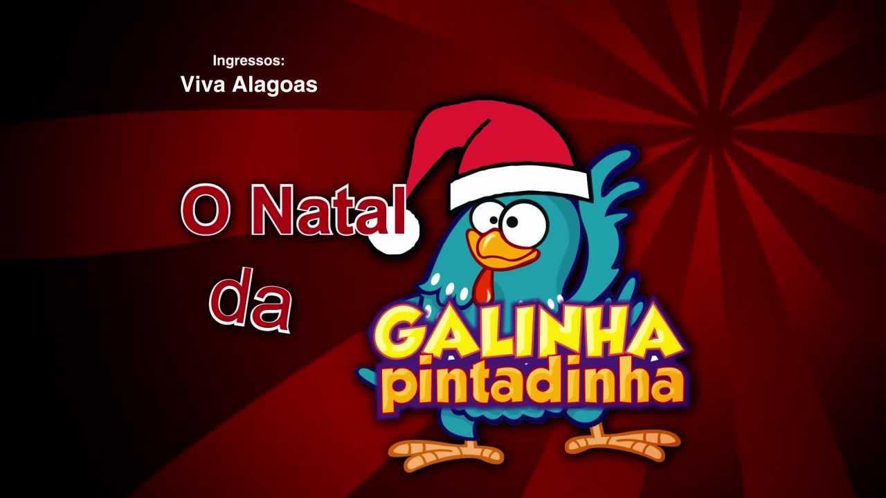 O Natal da Galinha Pintadinha no Shopping Rio Anil 2013  – Ver Programação