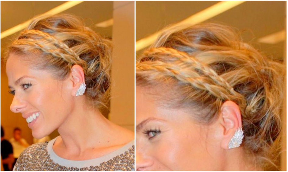 Penteados Para o Natal 2013 – Modelos, Penteado Passo a Passo