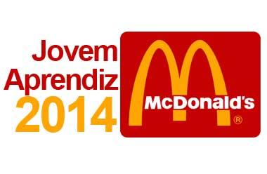 Programa Jovem Aprendiz McDonald's 2014 – Como se Inscrever