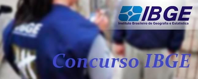 Concurso IBGE Maranhão 20104 – Como Se Inscrever, Vagas, Edital