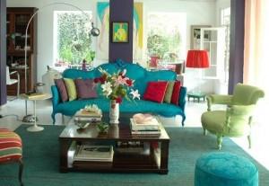 decoração-da-sala-com-móveis-antigos