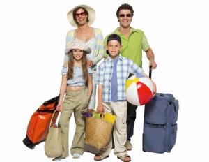 família-viagem
