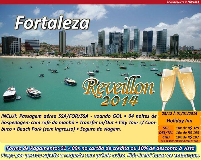 Réveillon 2014 na Cidade de Fortaleza CE – Programação Completa de Shows, Comprar Pacotes
