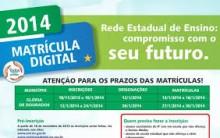 Matrícula Digital Mato Grosso do Sul 2014 – Realizar Inscrição Online, Vantagens