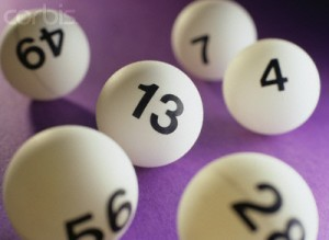 Lottery Number Balls