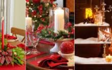Como Usar Velas na Decoração de Natal – Ver Modelos e Dicas