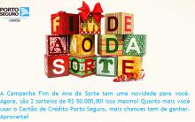 Promoção Fim de Ano da Sorte Porto Seguro – Como Participar, Prêmios