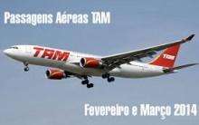 Promoção de Passagens Aéreas TAM Para 2014 – Comprar Online