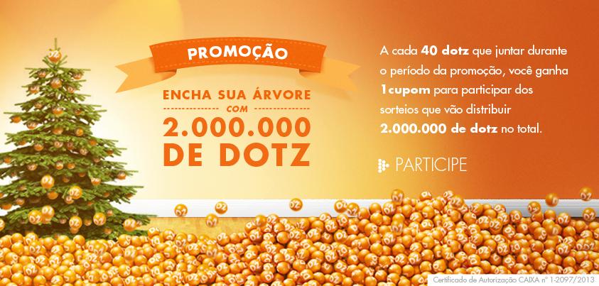 """Promoção """"Encha Sua Árvore Com 2 Milhões de Dotz"""" – Como Participar"""