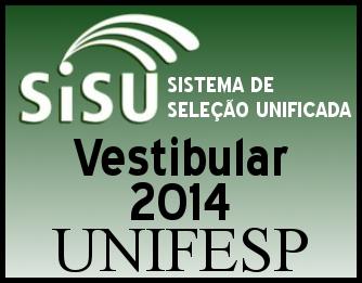 Aprovados no Vestibular da Unifesp 2014 – Consultar a Lista