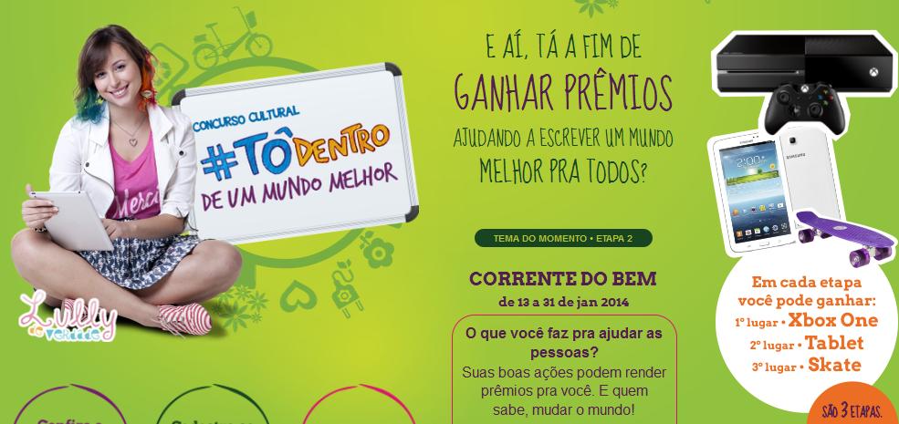 "Concurso Cultural ""Tô Dentro"" Jandaia – Como Participar, Prêmios"