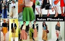 Saias Longas Plisadas Moda Verão 2014 – Ver Modelos e Dicas