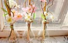 Vasinhos de Flores Feitos com Lâmpadas – Dicas de Como Fazer e Vídeos Passo a Passo