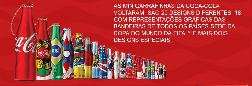 Promoção Mini-garrafinhas Coca-Cola 2014 – Participar, Onde Trocar, Pontos