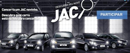 """Promoção Jac Motors """"Descubra Seu Novo JAC"""" – Como Participar, Prêmios"""