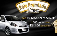 Promoção Rolo Premiado Neve – Como Participar, Prêmios