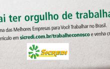 Trabalhe Conosco SICREDI 2014 – Cadastrar Currículo Online, Vagas