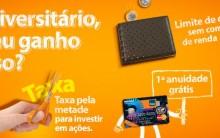 Cartão Itaucard Universitário Mastercard – Solicitar Online, Vantagens