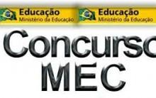 Concurso Ministério da Educação 2014 – Inscrição, Edital, Vagas