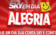 Promoção Sky Em Dia é Só Alegria – Como Participar, Prêmios