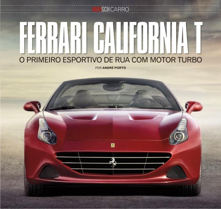 Lançamento Nova Ferrari Califórnia T 2014
