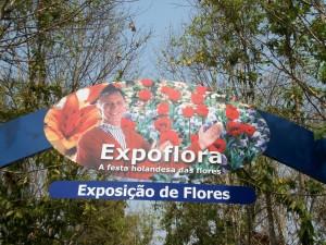 33ª edição do Expoflora em Holambra SP 2014