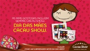 Cacau Show Presentes Para o Dia das Mães 2014