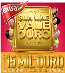 Promoção Extra Sua Mãe Vale Ouro 2014