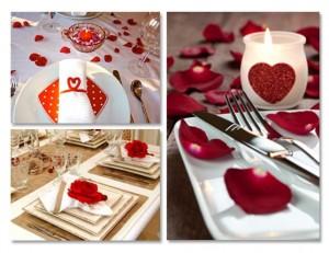 Decoração Mesa de Jantar Para o Dia dos Namorados 2014