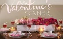 Decoração Mesa de Jantar Para o Dia dos Namorados 2014 – Dicas